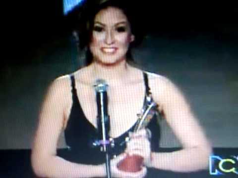 Taliana Vargas en Premios TvYNovelas 2011