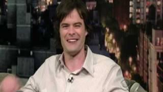 Letterman w/ Bill Hader 10/02/2008