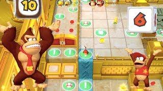 Super Mario Party - Tantalizing Tower Toys (Donkey Kong/Diddy Kong vs Koopa Troopa/Hammer Bro)
