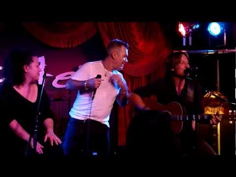 Flame Trees - Jimmy Barnes and Keith Urban - Lizottes - 6-6-12