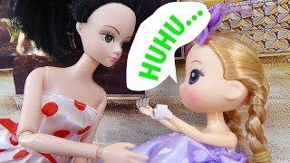 Chibi tím nghịch ngợm - B175M - Nữ hoàng búp bê baby doll