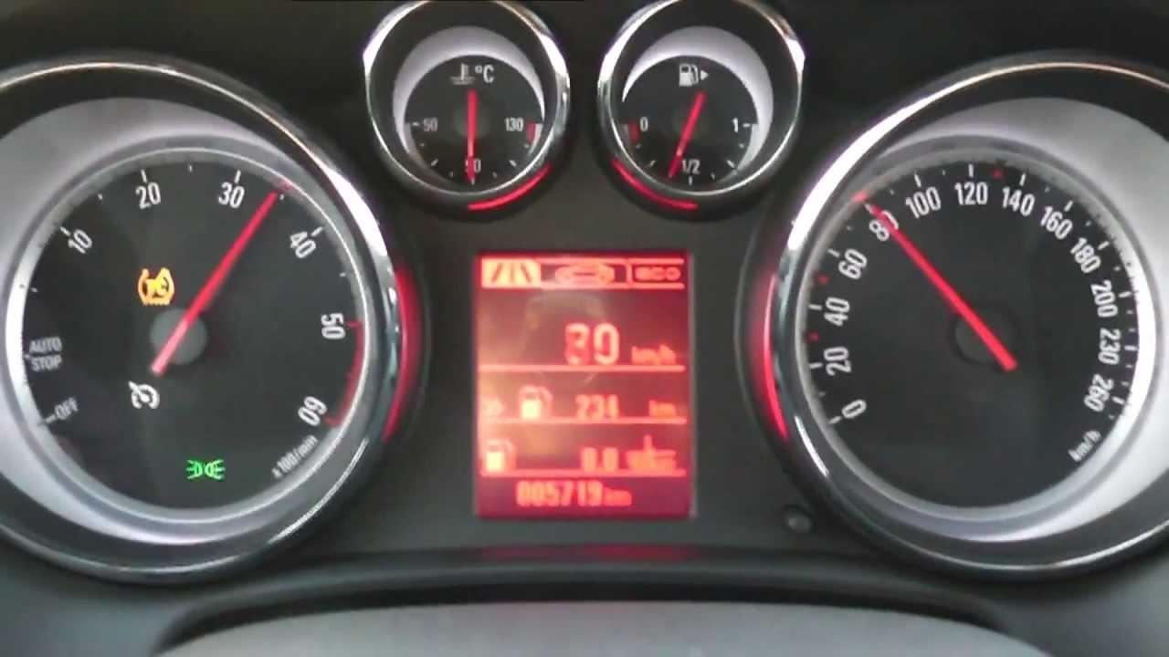 2013 Opel Cascada 2.0 BiTurbo CDTI 195 HP 0-100 km/h Acceleration ...