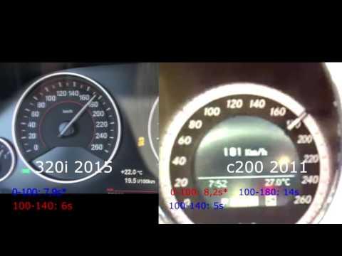 Nova/New BMW 320i 2.0 184hp VS Mercedes Benz c200 cgi 1.8 184hp