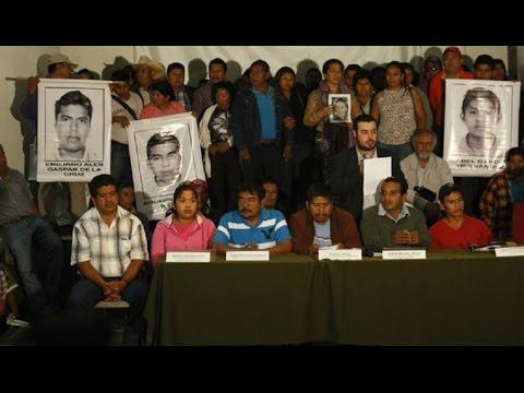 Familias de estudiantes desaparecidos y el balance después de reunión con Peña Nieto