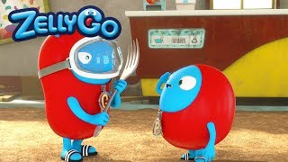 ZellyGo - Treasure Map 1 | HD Full Episodes | Funny Cartoons for Children | Cartoons for Kids