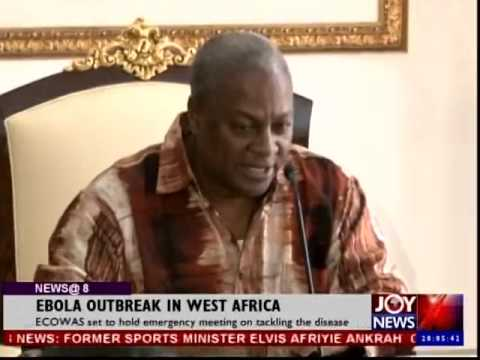 Emergency Meeting on Ebola Outbreak in West Africa