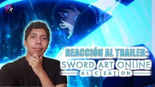 VÍDEO RACCIÓN || SAO: Alicization (Trailer 2)