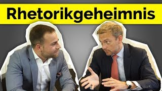 Christian Lindner - so wirst Du rhetorisch stark - #INTERVIEW