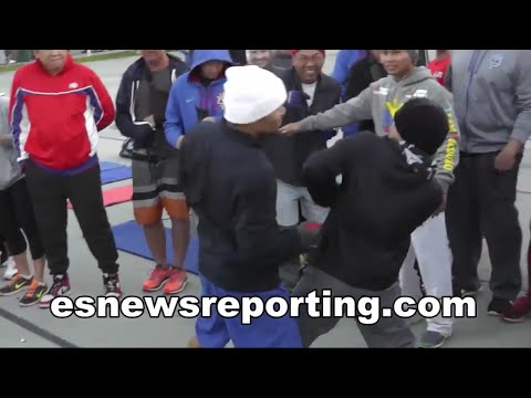 Manny Pacquiao Speed vs Floyd Mayweather's Defense Watch MP In Action - esnews boxing
