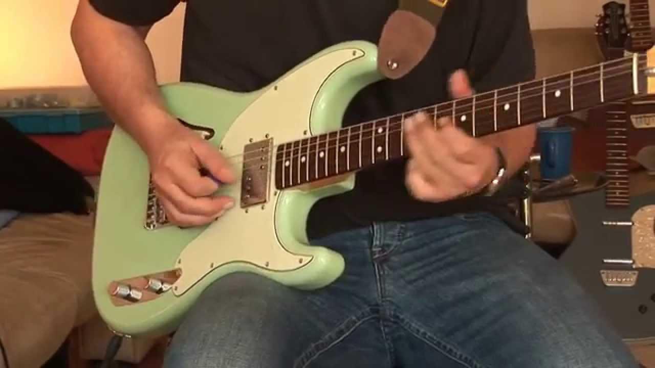 Fender Pawn Shop 72 Green Fender Pawn Shop Strat 72 s