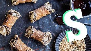 Cinnamon & Apple Cannoli Recipe - SORTEDfood