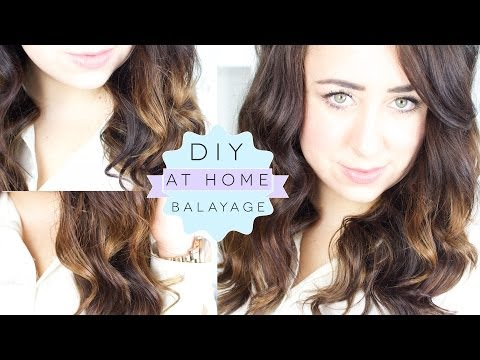 How To DIY Balayage At Home - Ombre/Dip Dye Technique   Gemsmaquillage
