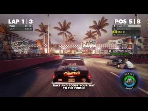 Dirt Showdown Primeiros Minutos Gtx460