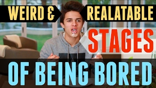Weird And Relatable Stages of Being Bored | Brent Rivera