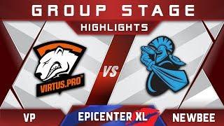 VP vs Newbee EPICENTER XL Major 2018 Highlights Dota 2