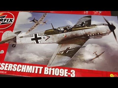 Kleimy Messerschmitt'a Bf109e-3 - Kuźnia Kazana Na Żywo Stream Modelarski