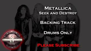 Metallica - Seek and Destroy - Backing Track Drums Only