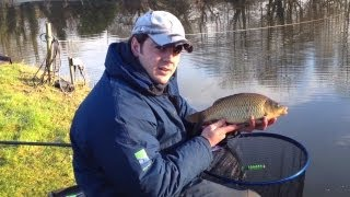 Winter Fishing For Carp On The Maggot Feeder - Part One