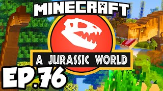 Jurassic World: Minecraft Modded Survival Ep.76 - A VERY JURASSIC CHRISTMAS!!! (Dinosaurs Modpack)