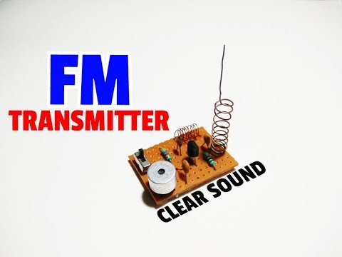 FM Transmitter..How To Make A Long Range FM Transmitter..Mini FM Transmitter..