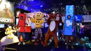 E3 2014 Ubisoft Just Dance 2015《舞力全開 2015》Event(The Fox (What Does The Fox Say?))