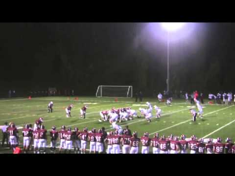 Leon Cummings #25 Salisbury School 2012 Football Highlights