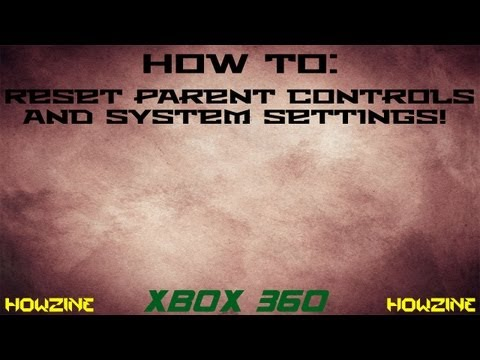how to change family settings on xbox 360