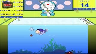 Doremon Chơi Câu Cá đầu Chaien Xeko | Cu Lỳ Chơi Game #46 | Doraemon Fishing Game Funny Gameplay