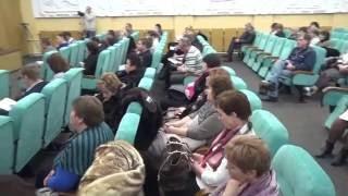 Отчёт мэра Василькова Сабадаша о