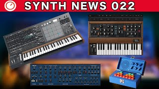 SYNTH NEWS 022: MatrixBrute New Price, Moog Model D App, Free OB-Xd Synth & More | SYNTH ANATOMY