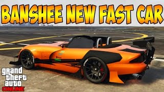 LIVE GTA V OnLine - Speed Test, todos os TOP VS o Banshee 900R, ...o Banshee 900R?