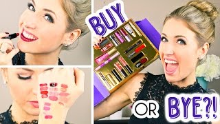 BUY OR BYE || First Impression & Demo of Holiday Makeup Gift Set!
