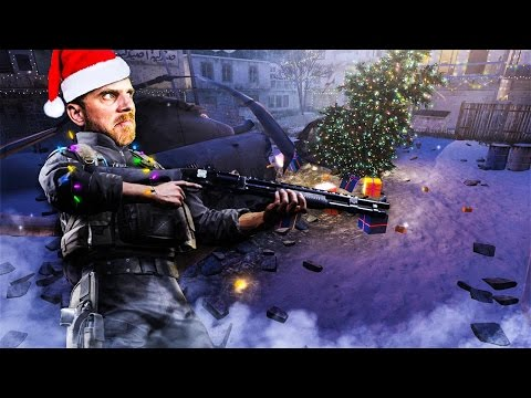 You Explode Into Presents When You Die (Winter Crash Modern Warfare Remastered Gameplay)