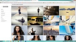 video Division - Fullscreen Portfolio Photography Theme - quick gallery example themeforest.net/item/division-fullscreen-portfolio-photography-theme/5030589?ref=BillyKid.