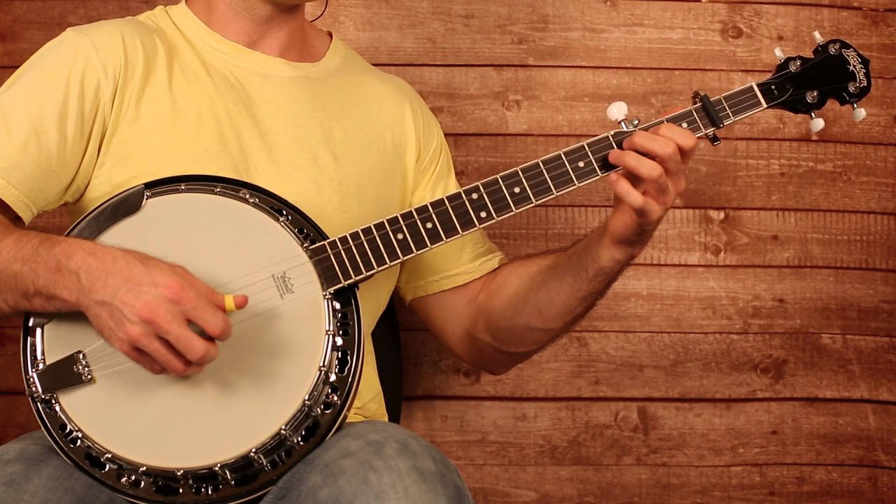 Old Crow Medicine Show u0026quot;Wagon Wheelu0026quot; Banjo Lesson (With Tab) - YouTube