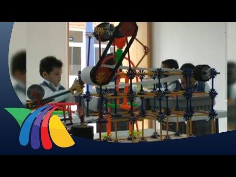 Alumnos de Tulancingo muestran habilidad en robótica | Noticias de Hidalgo