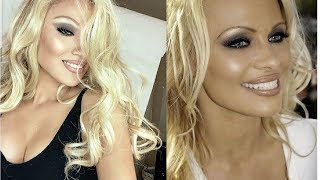 PAMELA ANDERSON INSPIRED MAKEUP TUTORIAL