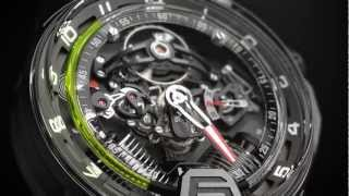 HYT H2 Hydromechanical Watch - Offical Video