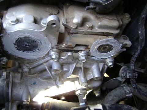 Motor platina cambio de banda de distribución Change timing belt.
