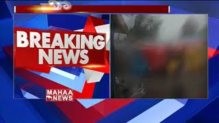 Heavy Rainfall And Strong Winds In Srisailam | Kurnool District | MAHAA NEWS