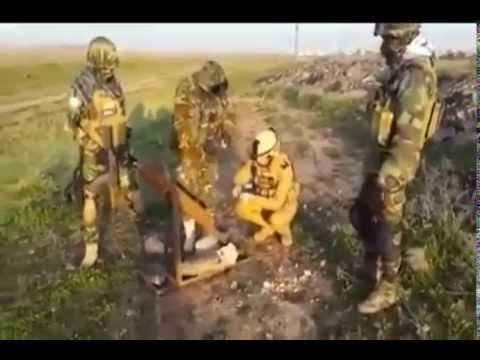 Peshmerga defused Islamic state missile Rocket in North of Iraq Mosul