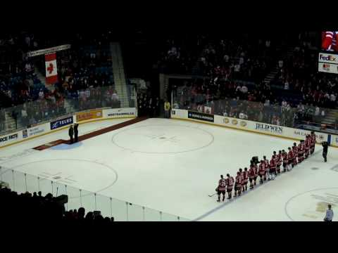 Canada/Latvia post game ...in HD!