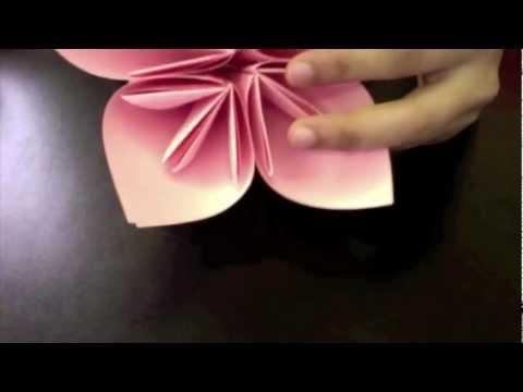 كيف اعمل وردة اوريجامي