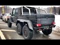 Гелик 6x6 за 60 млн!) BRABUS G700 6x6 (Mercedes G 63 AMG 6x6) + G 500 4x4 и BRABUS 7.3S W140! тест:)