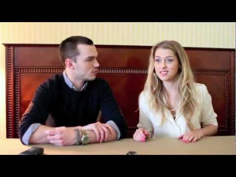 Nicholas Hoult and Teresa Palmer talk Warm Bodies
