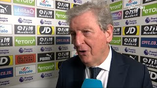 Hodgson delighted with injury-hit Crystal Palace