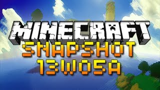 Minecraft: Weekly Snapshot 13w05a! (TEAM FEATURE, SNOW CHANGES, AND MORE!)