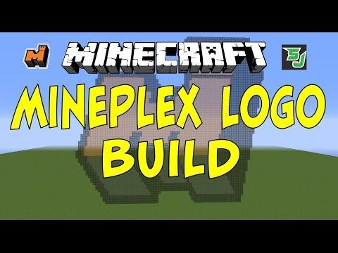 Minecraft: Mineplex Logo Build [NEW Lobby Logo]