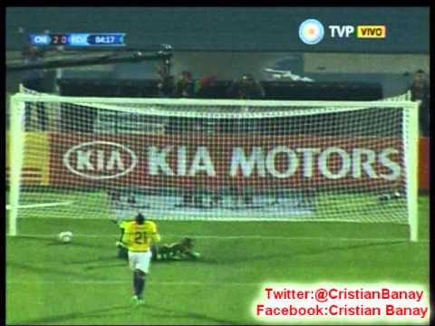 Chile 2 Ecuador 0 (Radio Cooperativa) Copa America 2015 Los goles