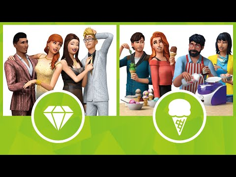 The Sims 4: Luxury Party Stuff and Cool Kitchen Stuff | Xbox and PS4